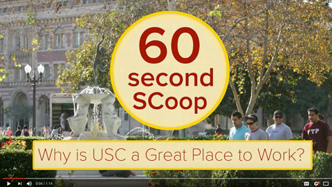 Why is USC a Great Place to Work?