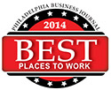 Philadelphia Business Journal 2014 Best Places to Work