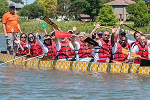 Renewal Dragon boat race