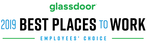 Glassdoor. Best Places to Work 2019 - Employees' Choice
