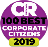 CR Magazine 100 Best Corporate Citizens 2019 Award