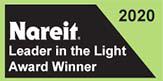 2020 Nareit Leader in the Light Award Winner