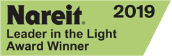 2019 Nareit Leader in the Light Award Winner