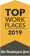 2019 Top Places to Work Award from The Washington Post