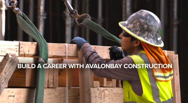 Construction crew member working