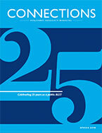 Connections magazine celebrating twenty-five years