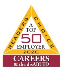 Readers Choice 2017 A Top 50 Employer Careers & the Disabled