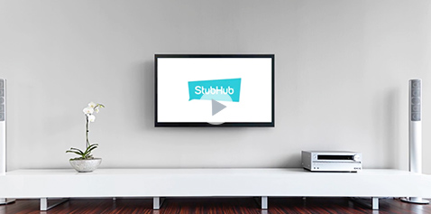 A video thumb featuring a mostly blank wall with a TV monitor