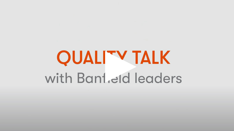 Quality talks with Banfield leaders