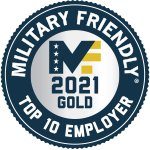 Military Friendly Top 10 Employer - 2020