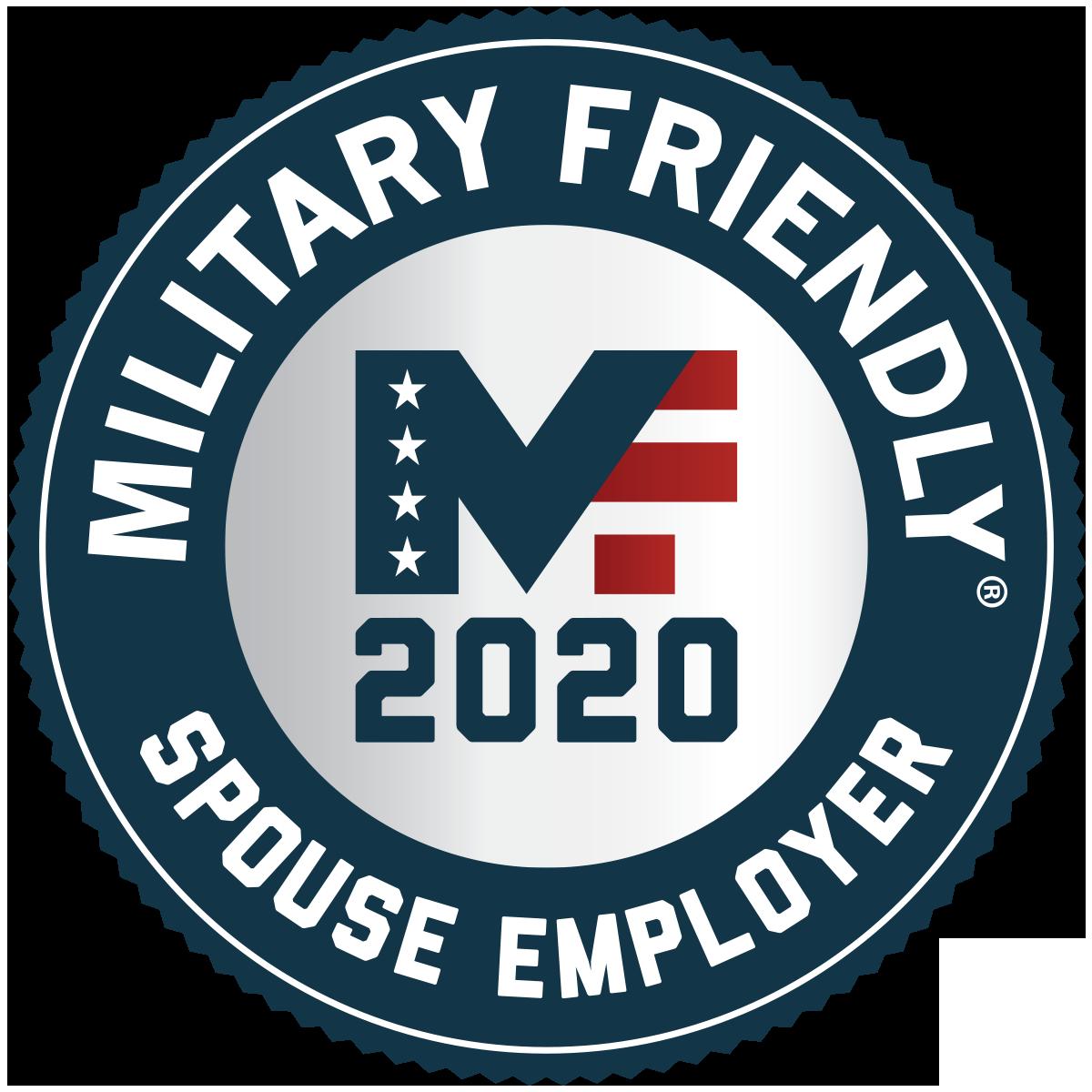 Military Friendly Spouse Employer - 2020