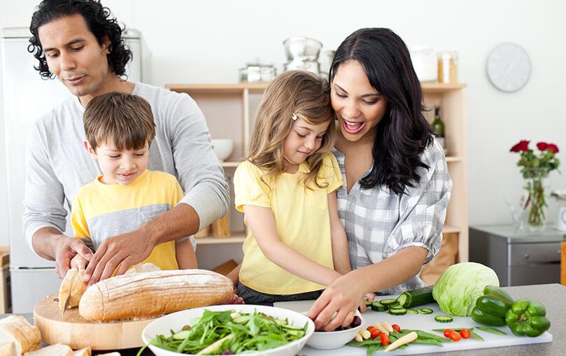 Family cookingt