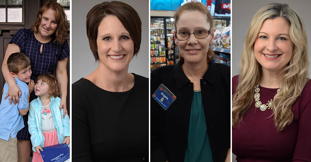 Four Giant Eagle Woman Leaders