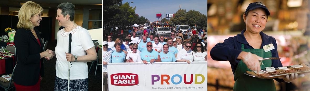 Mosaic of Giant Eagle Employees