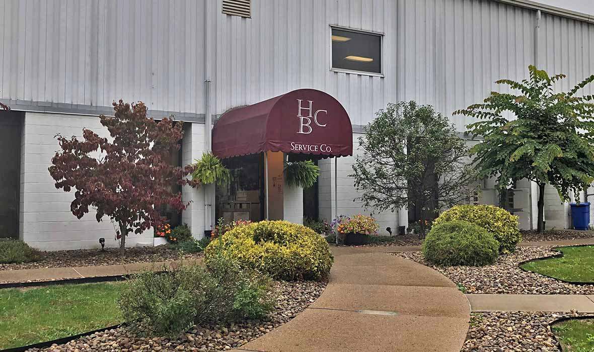 Entrance to HBC Service Co.