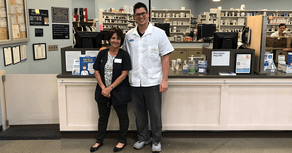 Alex and Lori - Pharmacy Department