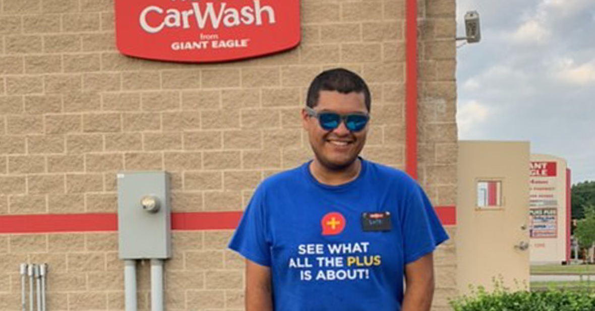 Luis WetGo Lead in front of car wash