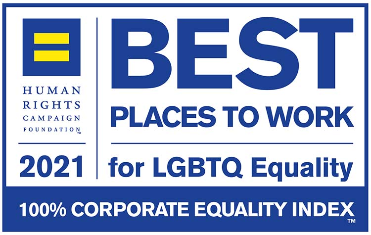 HRC CEI Best Place to Work Badge