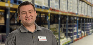 David – Production Manager, Proud team member since 2008