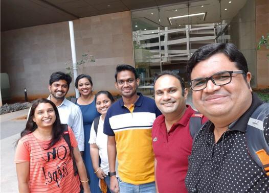 Team photo of Giant Eagle India