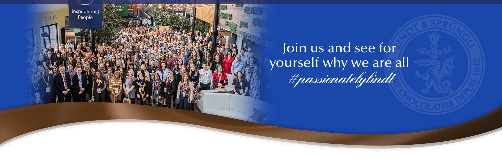 Join us and see for yourself why we are all #passionatelylindt