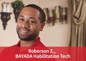 Photo of BAYADA Hab Tech Roberson Zachard
