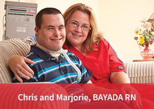 Chris and Marjorie, Bayada RN