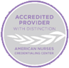 Accredited Provider with Distinction American Nurses