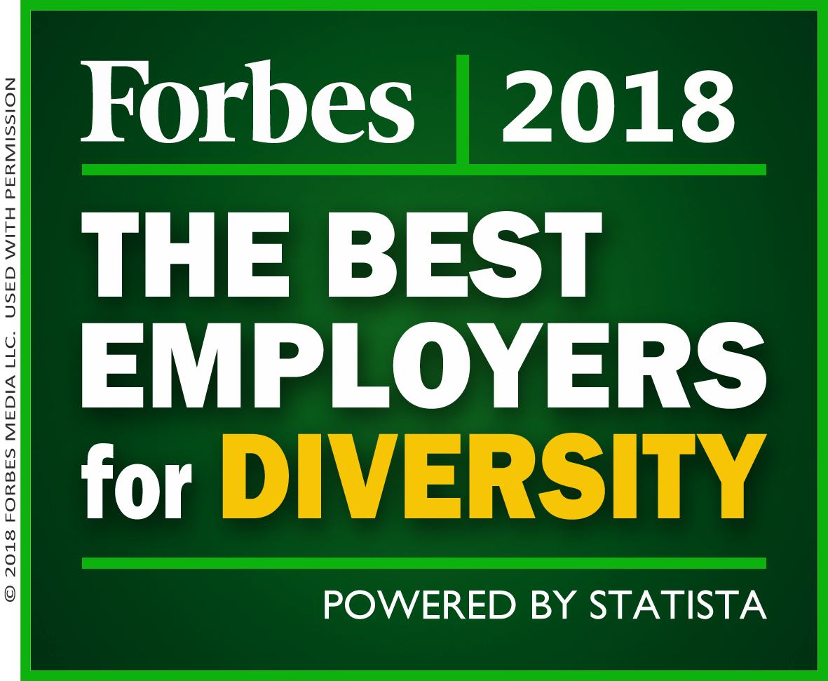 Best Employers for Diversity 2018