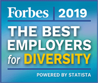 2019 Forbes - The Best Employers for Diversity