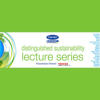 Distinguished Sustainability Lecture Series