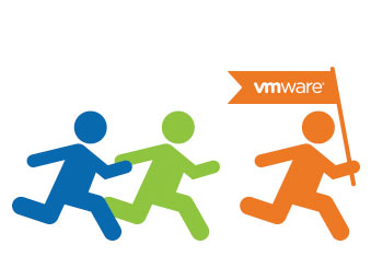 People running VMware flag icon