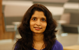 Woman from VMware India headshot.