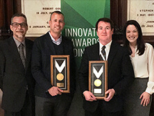 The MoneyGram team received two gold awards at the 2016 PYMNTS Innovator Awards.