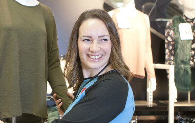 Photo of Kelly, Primark Visual Merchandiser.