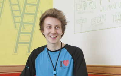 Photo of Lewys, Primark Cash Office Assistant.