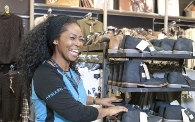 Photo of Sandra, Retail Sales Assistant.