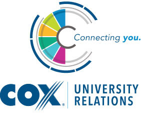 Logo for Cox university relations
