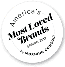 America's Most Loved Brands Spring 2017 by Morning Consult