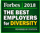 2018 Forbes - The Best Employers for Diversity