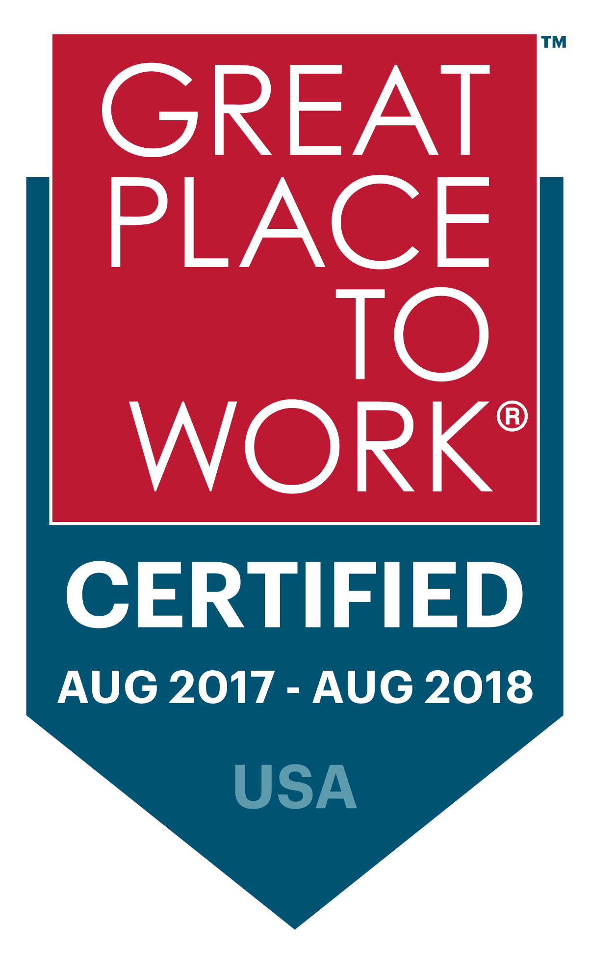 Great places to work.