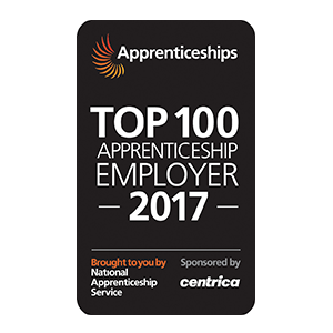 Top Apprenticeship Employer 2017