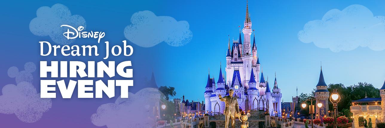 Disney parks jobs