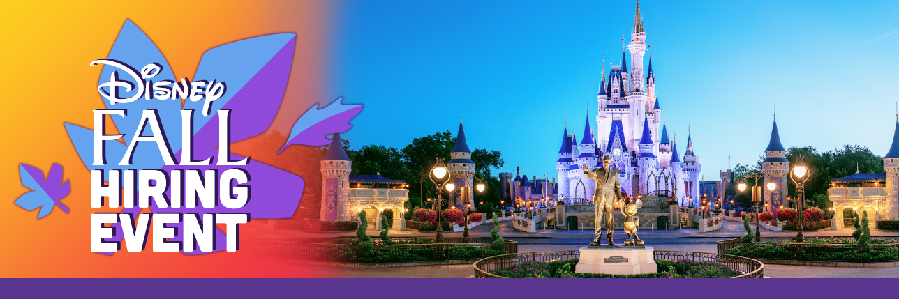 How To Get A Job In Walt Disney World Florida