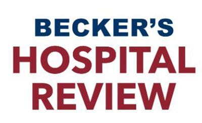 Becker's Hospital Review - Recognized in 100 Great Hospitals in America