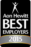 Aon Hewitt Best Employers 2015 award