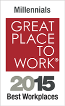 Award: Millennials Great Place to Work - 2015 Best Workplaces