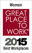 Award: Women Great Place to Work - 2015 Best Workplaces