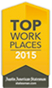 Award: Top Work Places: 2015