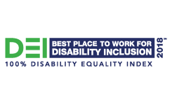DEI Best Places to Work 2018 Disability Equality Index